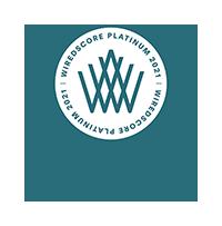 WiredScore Platinum Certification Badge